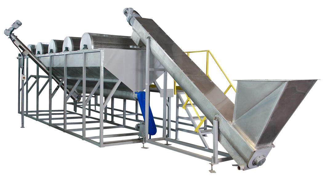 Cts plastics machinery new machine washing plants